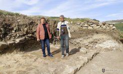 Представителен архитектурен комплекс от XIII век откриха на крепостта Трапезица