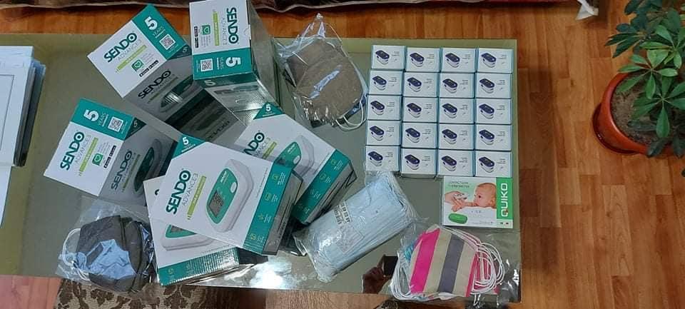 Българският фонд за жените дари апарати за кръвно и..