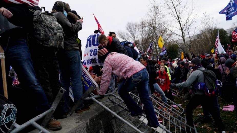 Над 300 души в САЩ са обвинени заради щурма на Капитолия