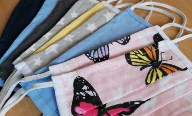 600 текстилни маски дари местна фирма на Профилираната езикова гимназия във В.Търново