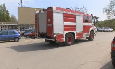 Пожар избухна във военния завод в Лясковец, за щастие няма пострадали