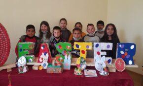 """Ученици от свищовско село се включиха в кампанията """"Великден без отпадъци"""""""