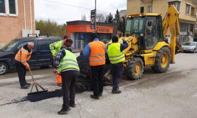Ремонтират се улици в Горна Оряховица и населените места от общината