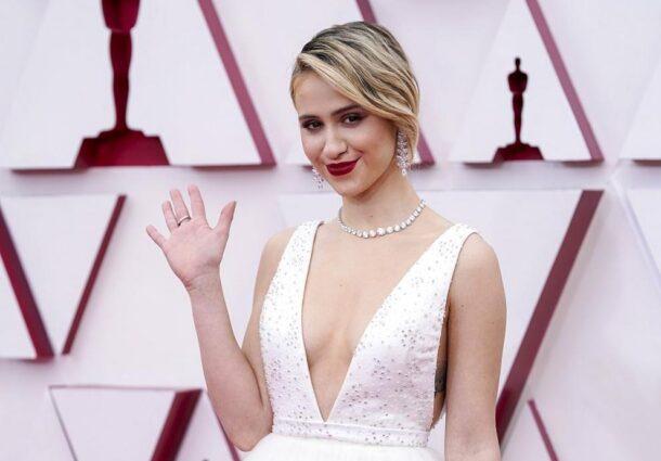Някой ден тя ще е голяма звезда: Мария Бакалова на наградите Оскар