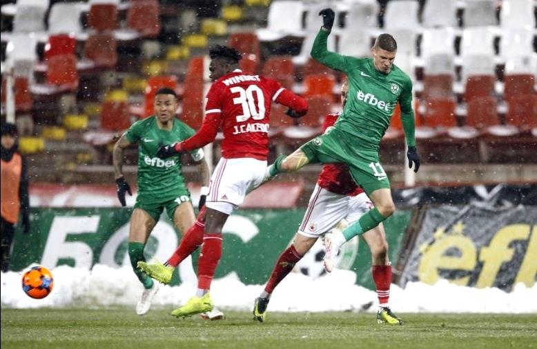 ЦСКА и Лудогорец завършиха 1:1 за Купата на България