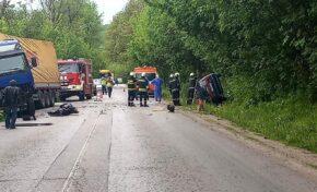 Тежка катастрофа затвори пътя В. Търново - Русе