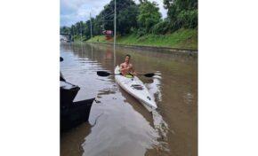Порой наводни Русе (СНИМКИ/ВИДЕО)