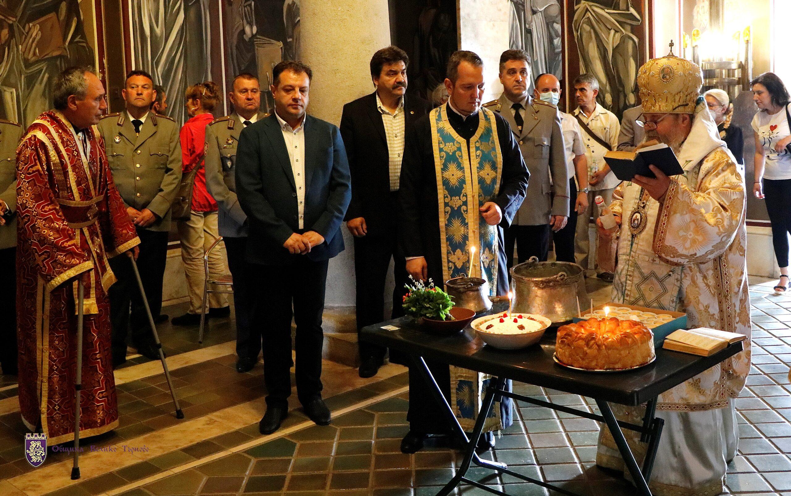 От върха на крепостта Царевец Велико Търново отбеляза Възнесение Господне