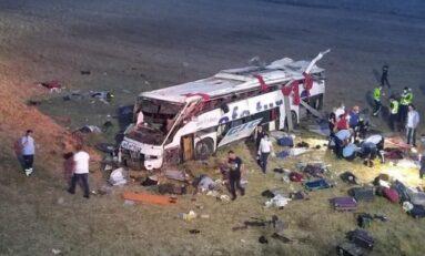 14 жертви след катастрофа с автобус в Турция