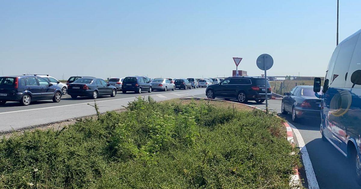 """Три катастрофи на магистрала """"Тракия"""" в посока Бургас"""