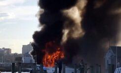 Българин спасява хора от горяща яхта за милиони в Масачузетс