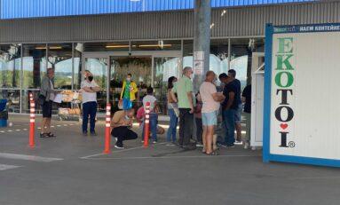 Временен имунизационен пункт започна работа пред Метро - Велико Търново
