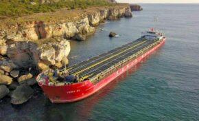 Частично бедствено положение в oбщина Каварна заради заседналия кораб