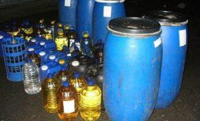 Откриха 50 литра нелегален алкохол в имот в Павликени