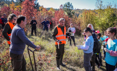 ДГС - Горна Оряховица организира есенно залесяване с участието на ученици, родители и учители
