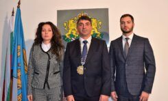 Новоизбраният кмет на Община Стражица Йордан Цонев положи тържествена клетва